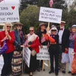 Marching with Central Coast Writers