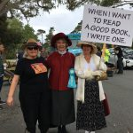 Central Coast Writers in Good Old Days Parade