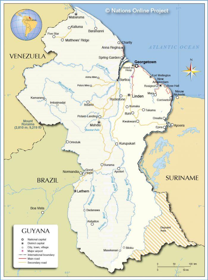 guyana-map